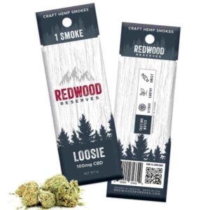 Redwood Reserve Hemp CBD Pre-Roll Sample